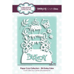 Creative Expressions - Paper Cuts Collection - Craft Die - Birthday Cake