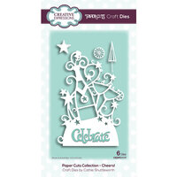 Creative Expressions - Paper Cuts Collection - Craft Die - Cheers