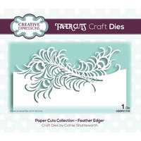 Creative Expressions - Paper Cuts Collection - Craft Die - Feather Edger