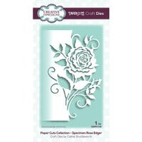 Creative Expressions - Paper Cuts Collection - Craft Die - Specimen Rose Edger