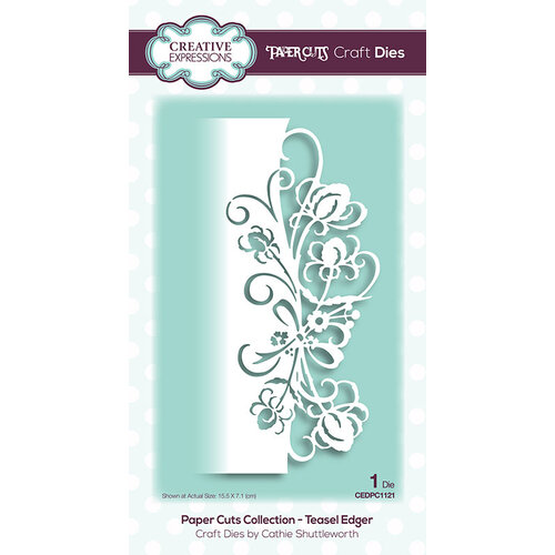 Creative Expressions - Paper Cuts Collection - Craft Die - Teasel Edger