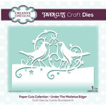 Creative Expressions - Paper Cuts Collection - Christmas - Craft Die - Under the Mistletoe Edger