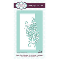 Creative Expressions - Paper Cuts Collection - Craft Die - O Christmas Tree Edger