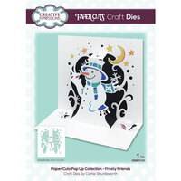 Creative Expressions - Paper Cuts Collection - Christmas - Craft Die - Frosty Friends