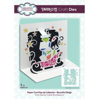 Creative Expressions - Paper Cuts Collection - Christmas - Craft Die - Bountiful Sleigh