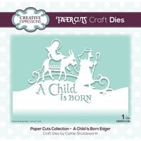 Creative Expressions - Paper Cuts Collection - Christmas - Craft Die - A Child Is Born