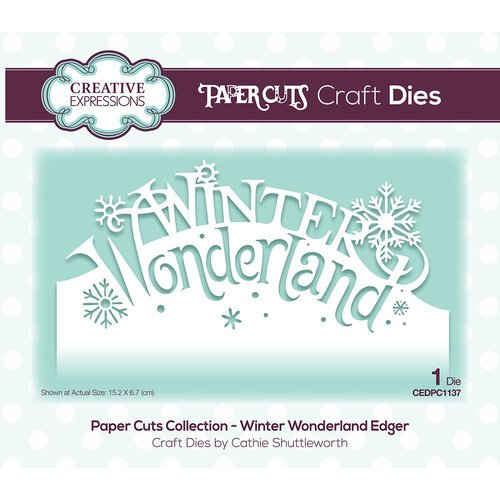 Creative Expressions - Paper Cuts Collection - Christmas - Craft Die - Winter Wonderland