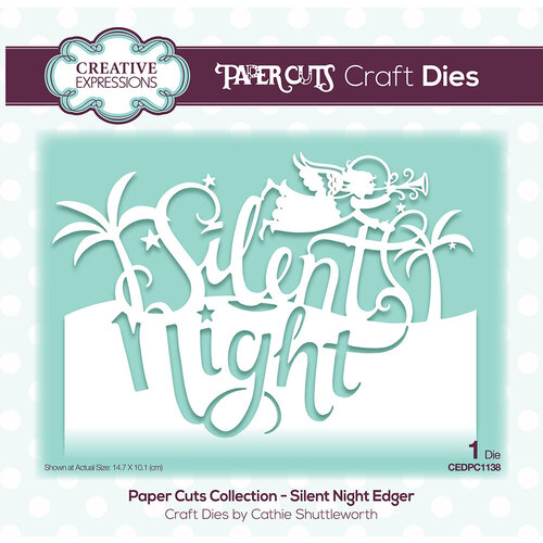 Creative Expressions - Paper Cuts Collection - Christmas - Craft Die - Silent Night