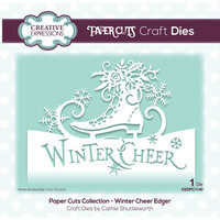 Creative Expressions - Paper Cuts Collection - Christmas - Craft Die - Winter Cheer