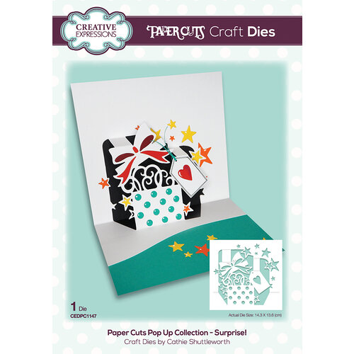 Creative Expressions - Paper Cuts Collection - Craft Dies - Surprise