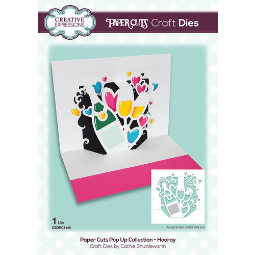 Creative Expressions - Paper Cuts Collection - Craft Dies - Hooray
