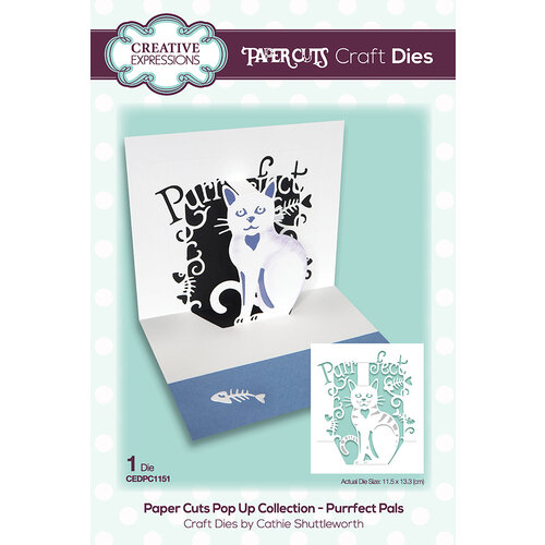 Creative Expressions - Paper Cuts Collection - Craft Dies - Purrfect Pals