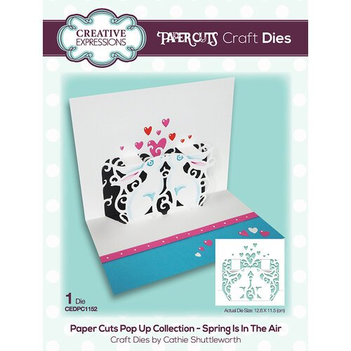 Creative Expressions - Paper Cuts Collection - Craft Dies - Spring Is In The Air