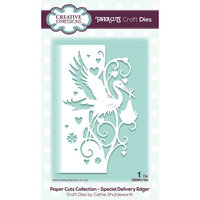 Creative Expressions - Paper Cuts Collection - Craft Die - Special Delivery Edger