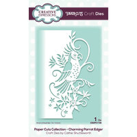 Creative Expressions - Paper Cuts Collection - Craft Die - Charming Parrot Edger