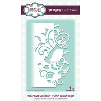Creative Expressions - Paper Cuts Collection - Craft Die - Puffin Splash Edger