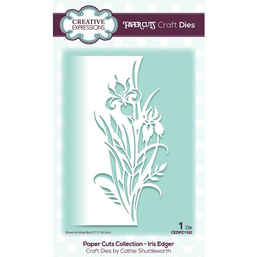 Creative Expressions - Dies - Paper Cuts Edger - Iris