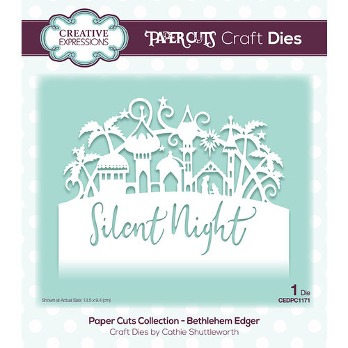 Creative Expressions - Paper Cuts Collection - Christmas - Craft Dies - Bethlehem Edger