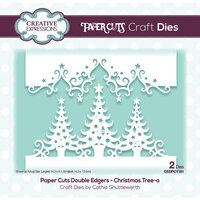 Creative Expressions - Paper Cuts Collection - Craft Dies - Christmas Tree-o Double Edger