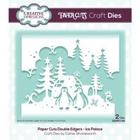 Creative Expressions - Paper Cuts Collection - Christmas - Craft Dies - Ice Palace Double Edger
