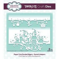 Creative Expressions - Paper Cuts Collection - Christmas - Craft Dies - Santa's Helpers Double Edger