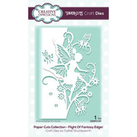 Creative Expressions - Paper Cuts Collection - Craft Dies - Flight Of Fantasy Edger
