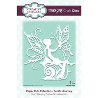 Creative Expressions - Paper Cuts Collection - Craft Dies - Snails Journey
