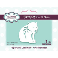 Creative Expressions - Paper Cuts Collection - Craft Die - Beary Christmas Mini