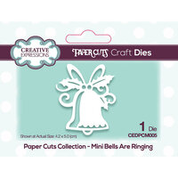 Creative Expressions - Paper Cuts Collection - Craft Die - Bells Are Ringing Mini