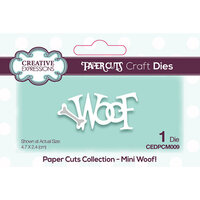 Creative Expressions - Paper Cuts Collection - Craft Dies - Mini - Woof!