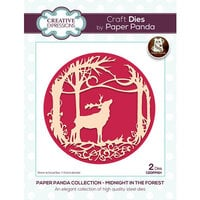 Creative Expressions - Paper Panda - Craft Dies - Midnight In The Forest