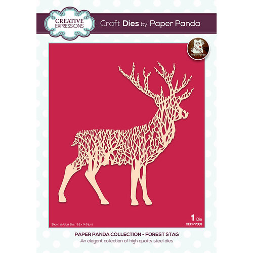 Creative Expressions - Paper Panda - Craft Dies - Forest Stag
