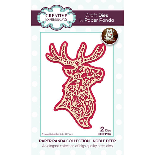 Creative Expressions - Paper Panda - Craft Dies - Noble Deer