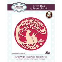 Creative Expressions - Paper Panda - Craft Dies - Midnight Fox