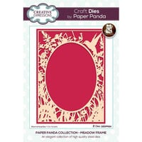 Creative Expressions - Paper Panda Collection - Craft Dies - Meadow Frame