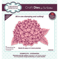 Creative Expressions - StampCuts - Hydrangea