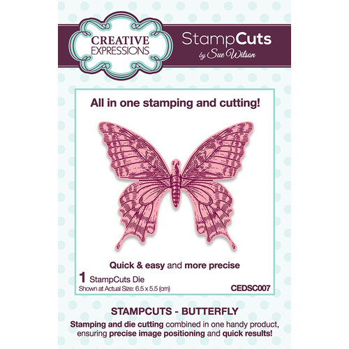 Creative Expressions - StampCuts - Butterfly