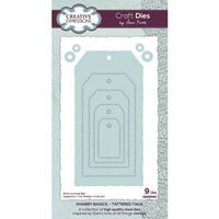 Creative Expressions - Shabby Basics Collection - Craft Dies - Tattered Tags