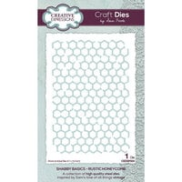 Creative Expressions - Shabby Basics Collection - Craft Dies - Rustic Honeycomb