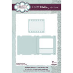 Creative Expressions - Shabby Basics Collection - Craft Dies - Vintage Slide
