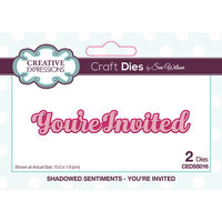 Creative Expressions - Shadowed Collection - Dies - You're Invited