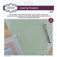 Creative Expressions - Layering Template - 6 x 6