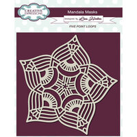 Creative Expressions - Mandala Masks - Stencils - Five Point Loops