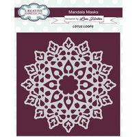 Creative Expressions - Mandala Masks - Stencils - Lotus Loops