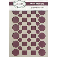 Creative Expressions - Stencils - Mini - Checker Board
