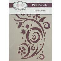 Creative Expressions - Stencils - Mini - Dotty Swirl