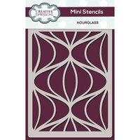 Creative Expressions - Mini Stencil - Hour Glass