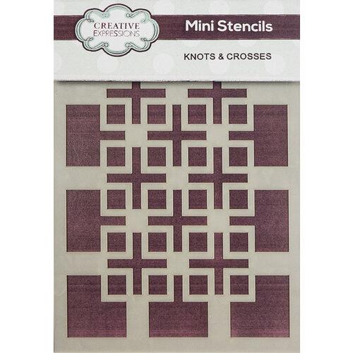 Creative Expressions - Stencils - Mini - Knots and Crosses
