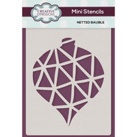 Creative Expressions - Christmas - Stencils - Mini - Netted Bauble