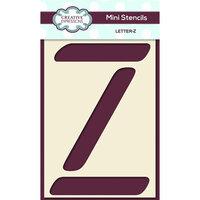Creative Expressions - Mini Stencil - Upper Case Letter Z